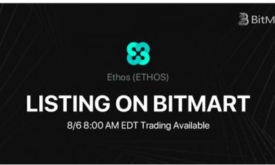 BitMart Lists the People-Powered Blockchain Platform Ethos [ETHOS]