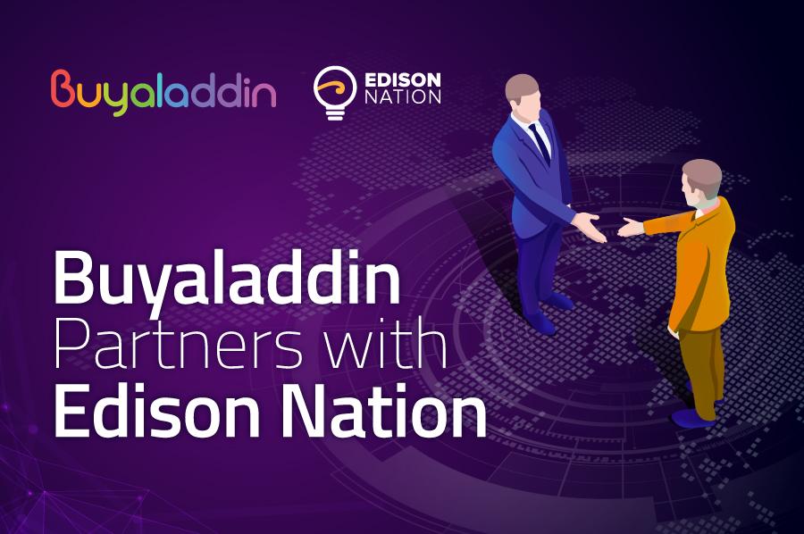 Buyaladdin partners with Edison Nation