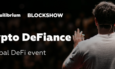 Equilibrium and EOSDT to host Crypto DeFiance event during BlockShow Asia 2019 and give a $5000 grant for the best DeFi idea