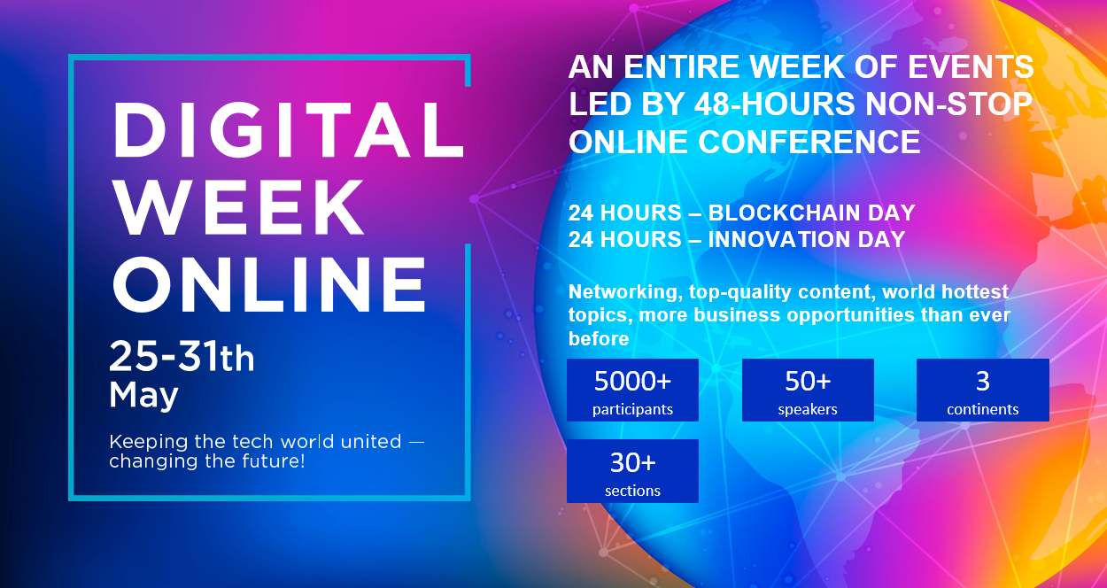 Digital Week Online - a Global event connecting innovation World from Asia to US!