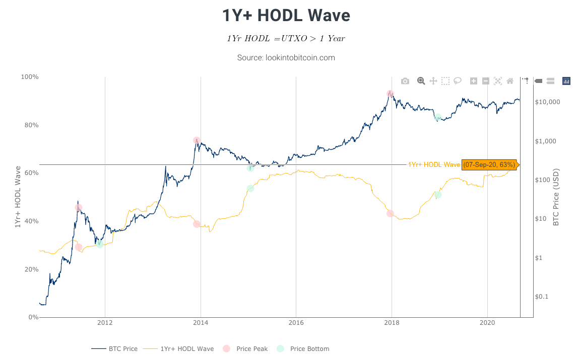 The Bitcoin Bull's best friend: HODLers