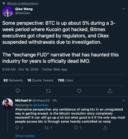 FUD is dead. What's next for Bitcoin?